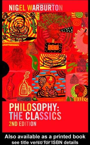 9780415239981: Philosophy: The Classics