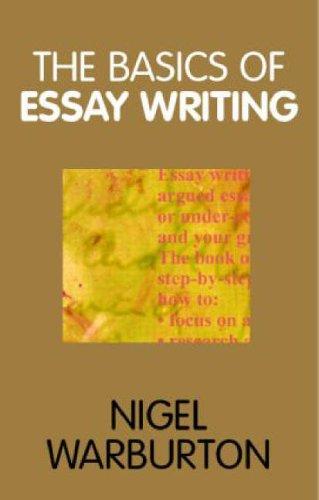9780415240000: The Basics of Essay Writing