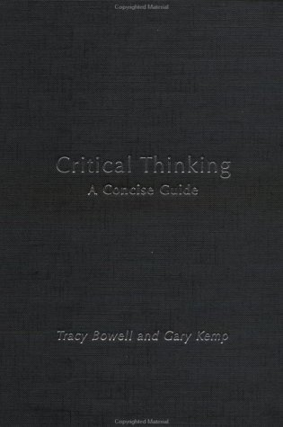 9780415240161: Critical Thinking: A Concise Guide