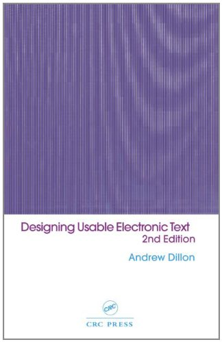 9780415240598: Designing Usable Electronic Text: Ergonomic Aspects Of Human Information Usage