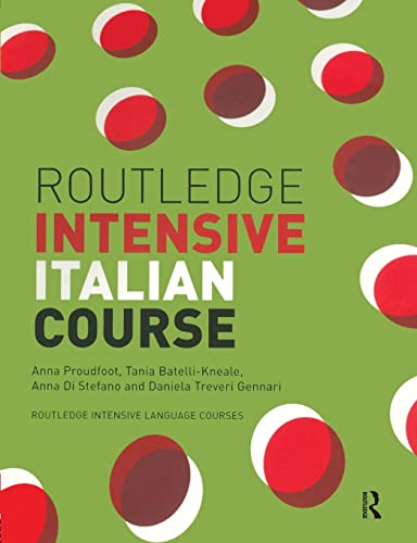 9780415240802: Routledge Intensive Italian Course (Routledge Intensive Language Courses)