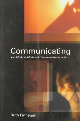 9780415241182: Communicating: The Multiple Modes of Human Interconnection