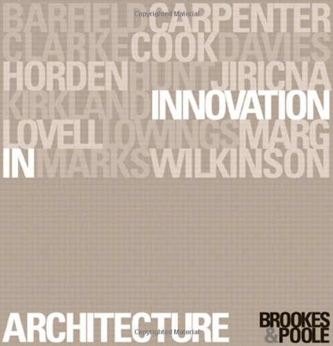 9780415241335: Innovation in Architecture: A Path to the Future