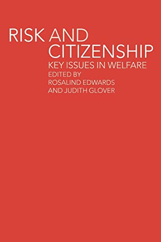 9780415241595: Risk and Citizenship: Key Issues in Welfare