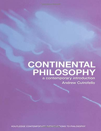 9780415242097: Continental Philosophy: A Contemporary Introduction (Routledge Contemporary Introductions to Philosophy)