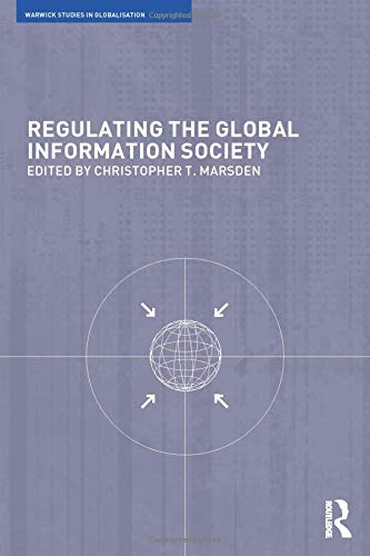 9780415242189: Regulating the Global Information Society (Routledge Studies in Globalisation)