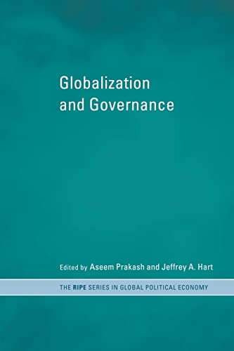 9780415242493: Globalization and Governance (RIPE Series in Global Political Economy)