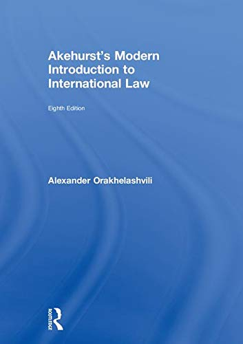9780415243551: Akehurst's Modern Introduction to International Law