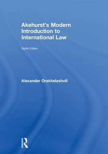 9780415243551: Akehurst's Modern Introduction to International Law