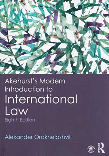 9780415243568: Akehurst's Modern Introduction to International Law