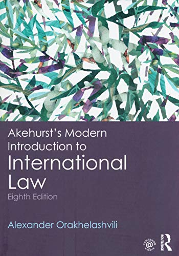 Law to modern akehursts introduction pdf international