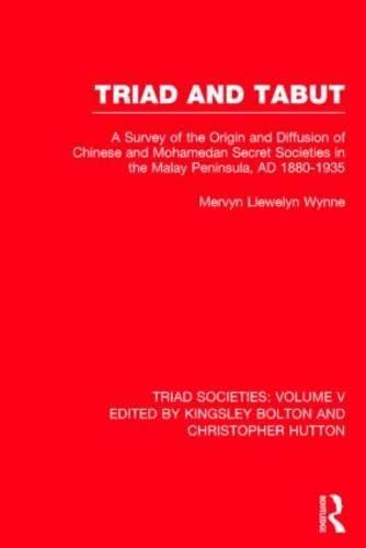 9780415243971: 005: Triad Soc:Western Accounts V5