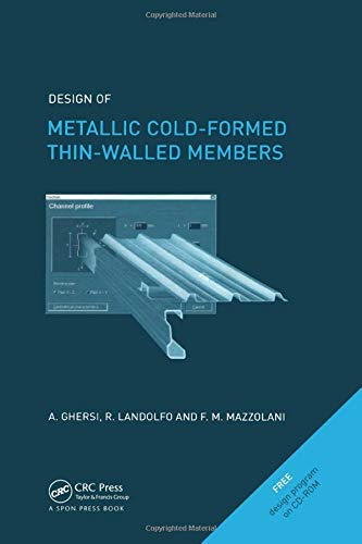 9780415244374: Design of Metallic Cold-Formed Thin-Walled Members