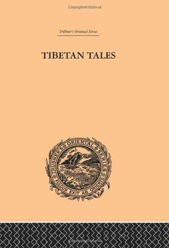 Tibetan Tales Derived from Indian Sources (Trubner's Oriental S.): F.Anton Von Schiefner