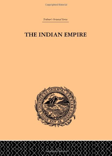 9780415244954: The Indian Empire: Its People, History and Products (Trubner's Oriental Series) (Volume 40)