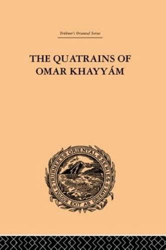 9780415245470: The Quatrains of Omar Khayyam (Trubner's Oriental Series) (Volume 69)