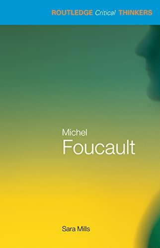 9780415245685: Michel Foucault (Routledge Critical Thinkers)