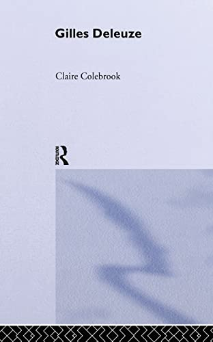 9780415246330: Gilles Deleuze (Routledge Critical Thinkers)