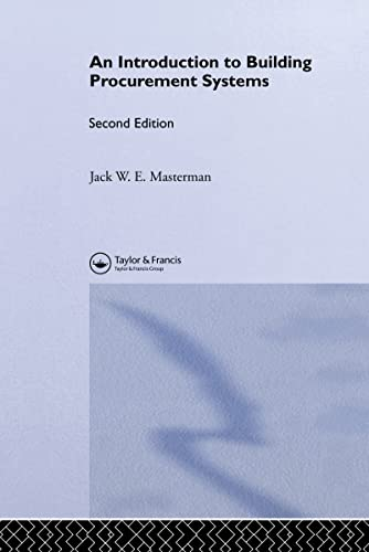 9780415246415: Introduction to Building Procurement Systems