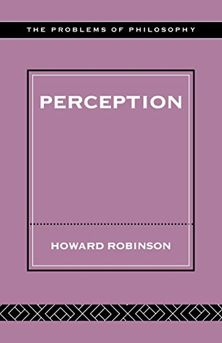 9780415249935: Perception