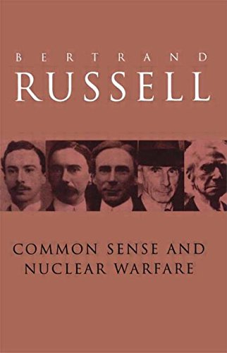 9780415249959: Common Sense and Nuclear Warfare