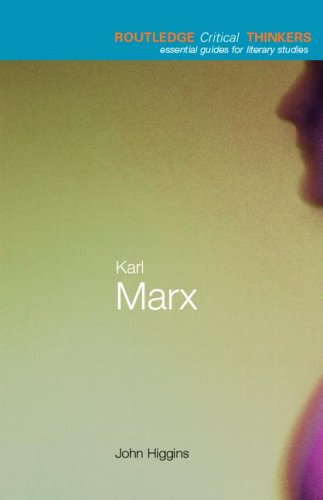 9780415250078: Karl Marx (Routledge Critical Thinkers)