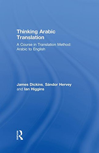 9780415250641: Thinking Arabic Translation: A Course in Translation Method: Arabic to English: Course Book (Thinking Translation)