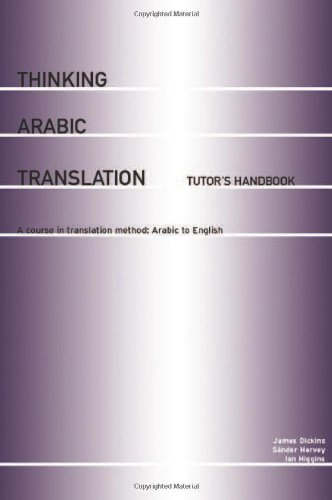9780415250665: Thinking Arabic Translation: Tutor's Handbook: A Course in Translation Method: Arabic to English (Thinking Translation)