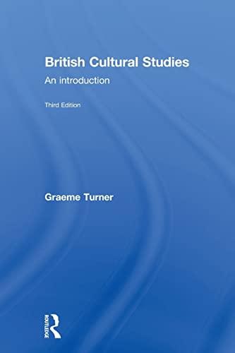9780415252287: British Cultural Studies
