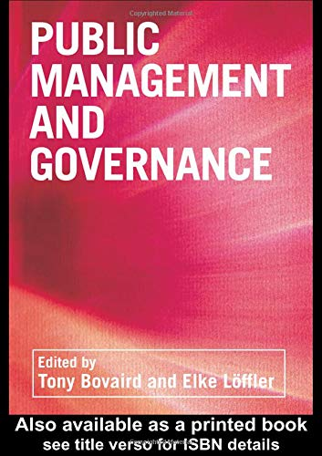 9780415252454: Public Management and Governance