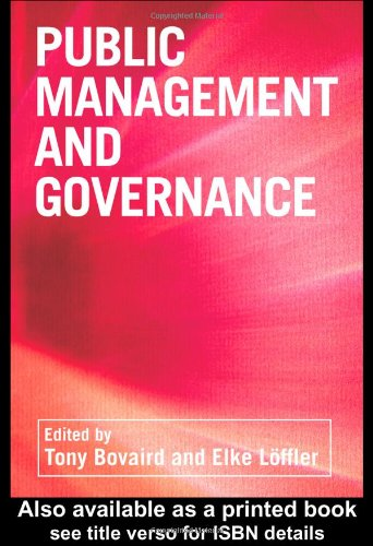 9780415252461: Public Management and Governance