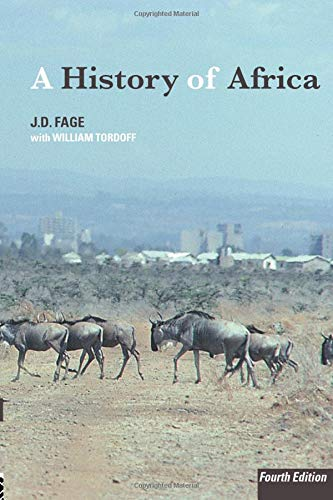 9780415252485: A History of Africa