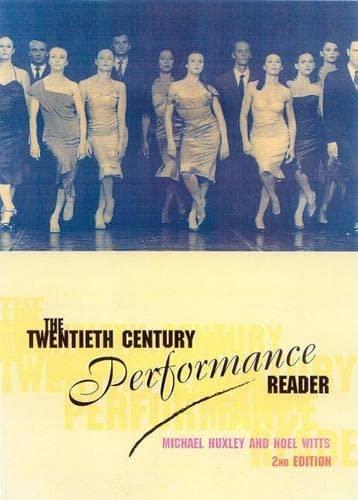 9780415252874: The Twentieth-Century Performance Reader, 2nd