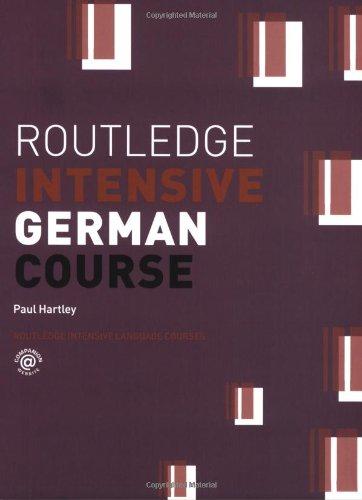9780415253468: Routledge Intensive German Course (Routledge Intensive Language Courses)