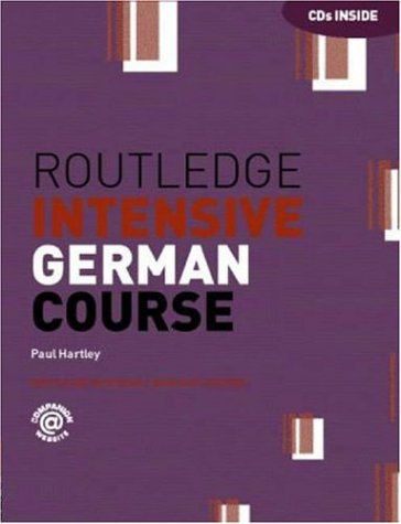 9780415253475: Routledge Intensive German Course