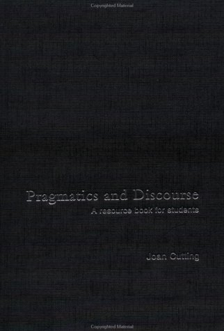 9780415253574: Pragmatics and Discourse: A Resource Book for Students (Routledge English Language Introductions)