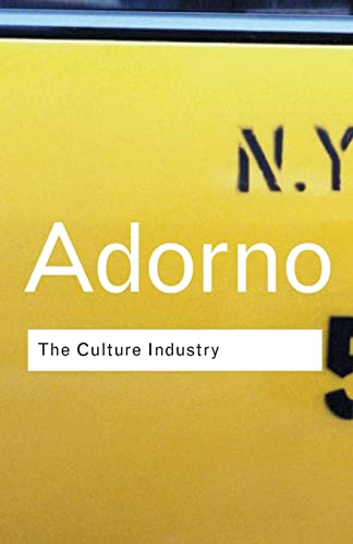 9780415253802: The Culture Industry: Selected Essays on Mass Culture