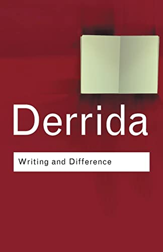 Writing and Difference (Routledge Classics) (9780415253833) by Jacques Derrida
