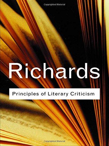 9780415254021: Principles of Literary Criticism (Routledge Classics) (Volume 90)