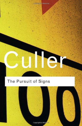 9780415255363: The Pursuit of Signs