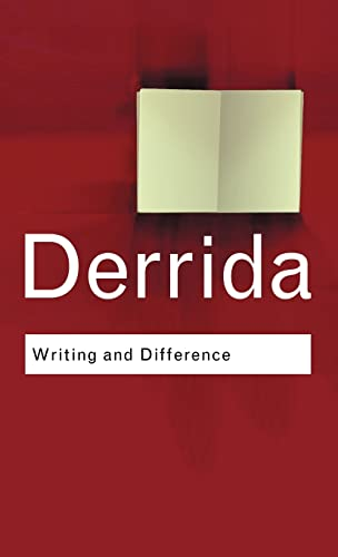 9780415255370: Writing and Difference