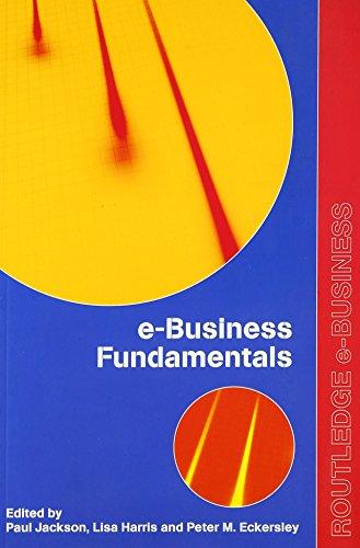 9780415255950: e-Business Fundamentals (Routledge eBusiness)
