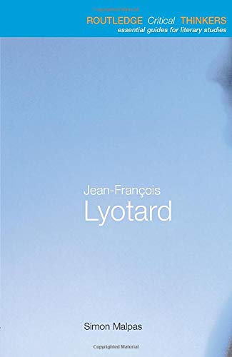 9780415256155: Jean-François Lyotard (Routledge Critical Thinkers)