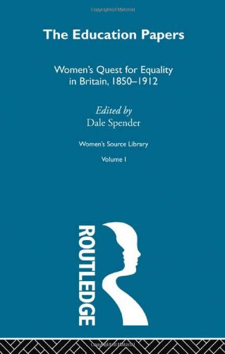 Women's Source Library: The Education Papers (0415256860) by Spender, Dale