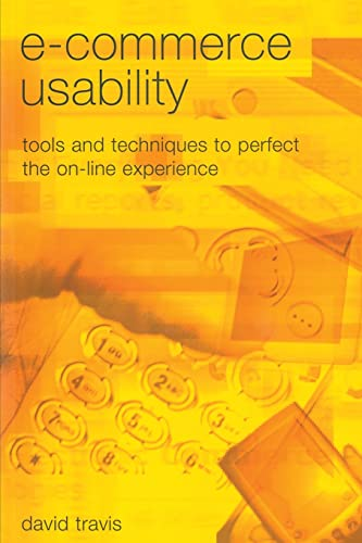 9780415258340: E-Commerce Usability: Tools and Techniques to Perfect the On-Line Experience