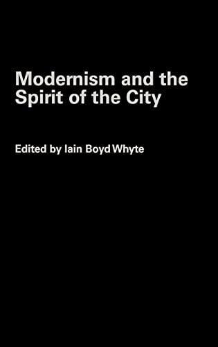 9780415258401: Modernism and the Spirit of the City