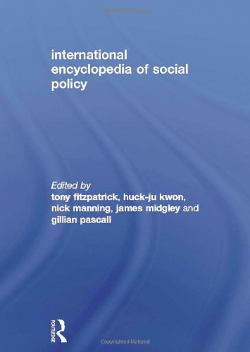 International Encyclopedia of Social Policy 3 VOL. SET: Routledge