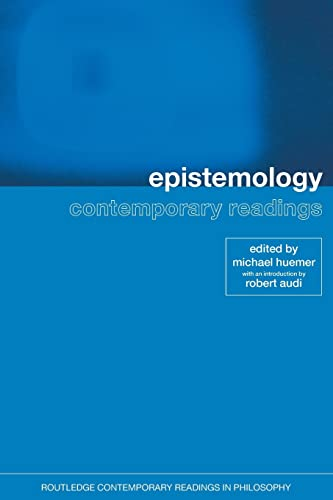 9780415259217: Epistemology: Contemporary Readings (Routledge Contemporary Readings in Philosophy)