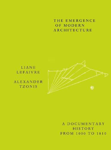 9780415260244: Emergence of Modern Architecture: A Documentary History from 1000 to 1810