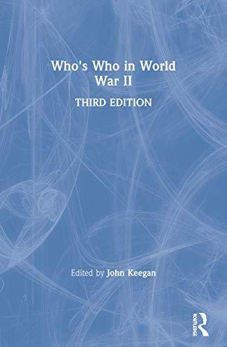 Who's Who in World War II: John Keegan